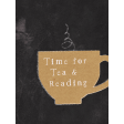 Going To The Bookstore Tea 3x4 Journal Card