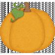 Sweet Autumn Pumpkin Sticker Alt