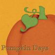 Sweet Autumn Pumpkin Journal Card 4x4