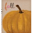 Sweet Autumn Add-On Pumpkin Ephemera