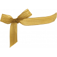 Chicory Lane Element Gold Bow