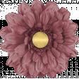 Chicory Lane Element Flower Burgundy