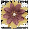 Chicory Lane Element Flower Gold