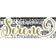 Chicory Lane Element Word Art Serene