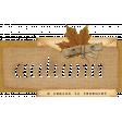 Rustic Autumn - Wordart 1