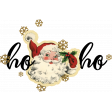 Merry and Bright Christmas - Wordart 1