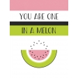 Summer Lovin-Journal Card Watermelon