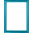 My Life Palette - 3x4 Basic Wooden Frame (Turquoise)