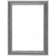 My Life Palette - 3x4 Metallic Silver Wooden Frame