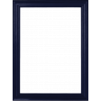 My Life Palette - 3x4 Basic Wood Frame (Navy)