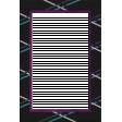 My Life Palette - 4x6 Paper Frame (Black Argyle)