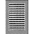 My Life Palette - 4x6 Paper Frame (Navy Stripe)