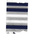 My Life Palette - Washi (Navy & Metallic Silver Stripe)