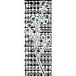 My Life Palette - Floral Vine Sticker