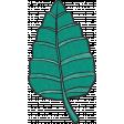 My Life Palette - Leaf Doodle (Jade)