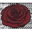 My Life Palette - Flower Doodle (Burgundy Rose)