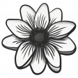 My Life Palette - Flower Doodle (White Anemone)