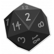 My Life Palette - Roleplaying Dice (Gray 2)