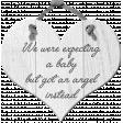 Infant & Pregnancy Loss Awareness - Heart Plaque