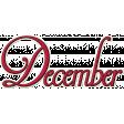Project Life - December Word Art 1