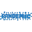 Warriors Pandemic Word Art Graphic