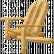 Beaches Felt Adirondack Chair