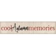 Cool Autumn Memories Label