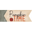 Pumpkin Time Label