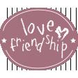 Friendship elements kit - Label05