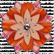 Bohemian Wired Flower # 13
