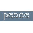 Word Strip - Peace
