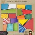 Super Hero Comic Papers 1