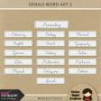 Genius Word Art 2