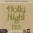 Holly Night Alpha & Numbers