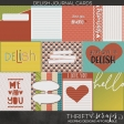 Delish Journal Cards