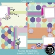 Snow Beautiful (layout templates)