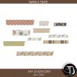 My Everyday: July 2021 Washi Tape