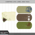 Camping Life Kit: Label and Journal Box