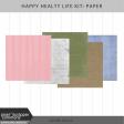 Happy Healthy Life Paper Kit
