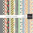 Speed Zone Papers Kit