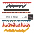 Speed Zone Ribbons Kit