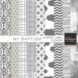 My Baptism Overlay/Paper Templates Kit