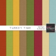Turkey Time Solid Papers Kit