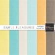 Simple Pleasures Solid Papers Kit