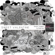 Sweet Valentine Element Templates Kit