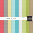 Rain, Rain Solid Papers Kit