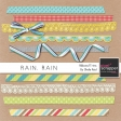 Rain, Rain Ribbons And Trims Kit