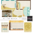 At The Beach 4x6/3x4 Journal Cards Kit
