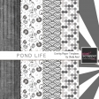 Pond Life Overlay/Paper Templates Kit