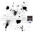 Paint Splatters Set #02 Brushes/PNG's Kit